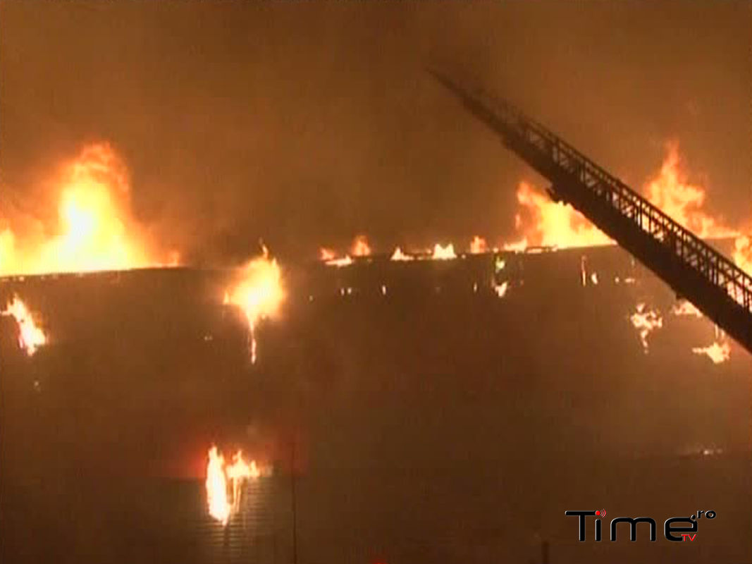 Incendiu la mall My Place din Brasov