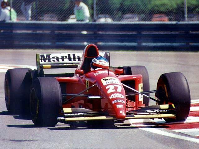 Jean Alesi Ferrari 27