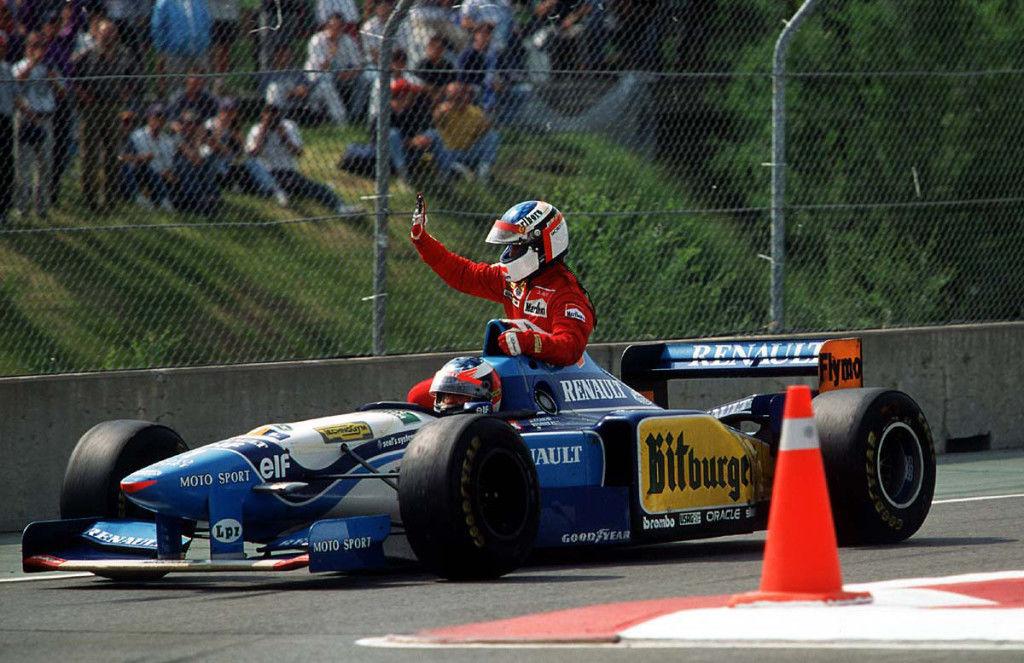 Jean Alesi Montreal Canada 1995 Michael Schumacher