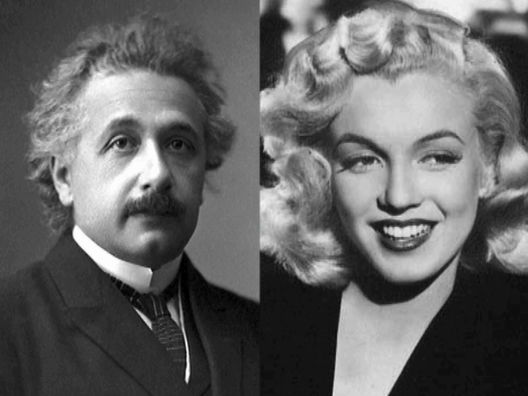 Marilyn-Monroe-si-Albert-Einstein