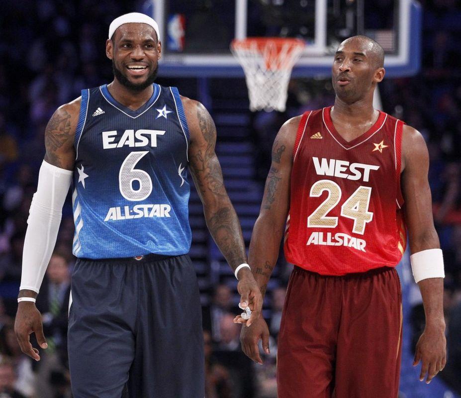 LeBron James Kobe Bryant ASG
