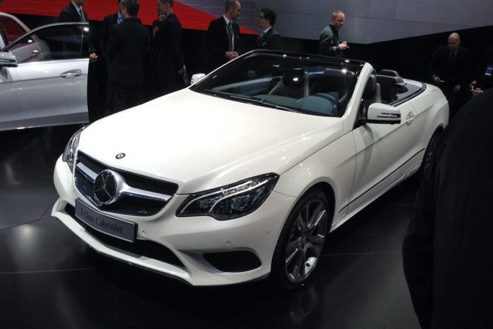 Mercedes clasa E cabriolet facelift