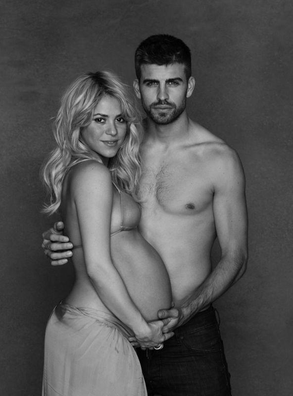 Shakira pregnant Pique