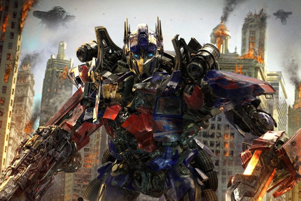 Transformers 3 dark of the moon Optimus Prime
