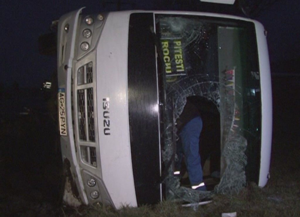 autobuz rasturnat peste biciclist 2