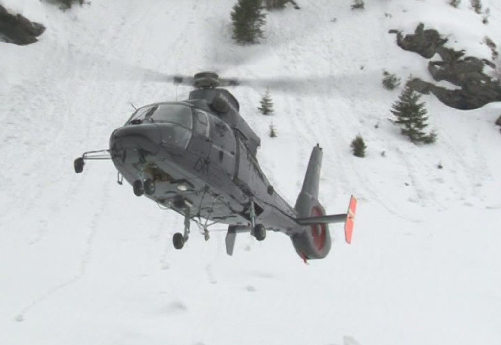 Avalanse provocate de elicopter 2