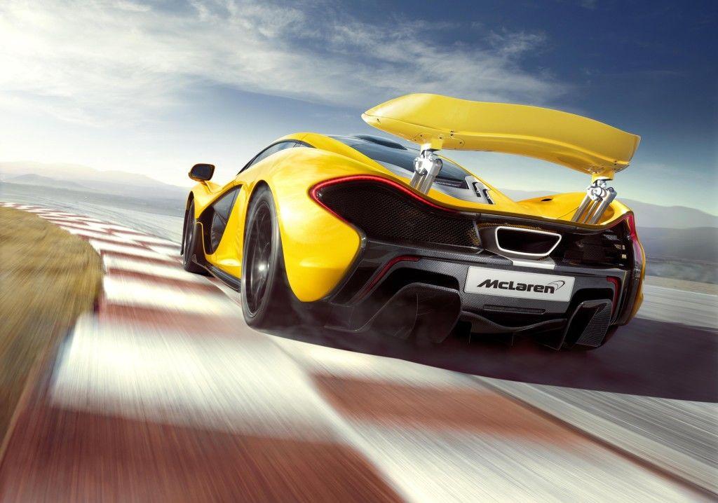 McLaren P1 e