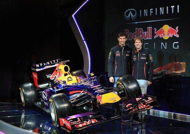 Red Bull RB9 Mark Webber Sebastian Vettel