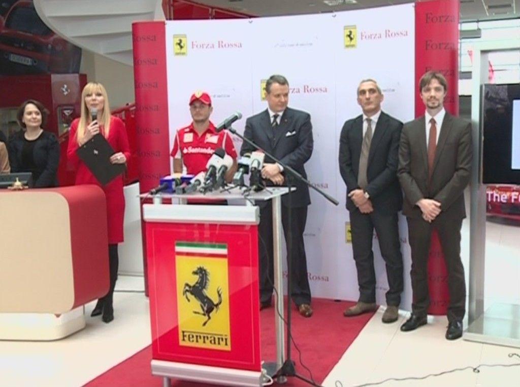 conferinta lansare Ferrari F12 Berlinetta
