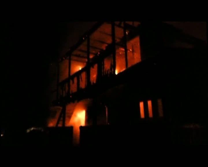 incendiu cabana Colibita