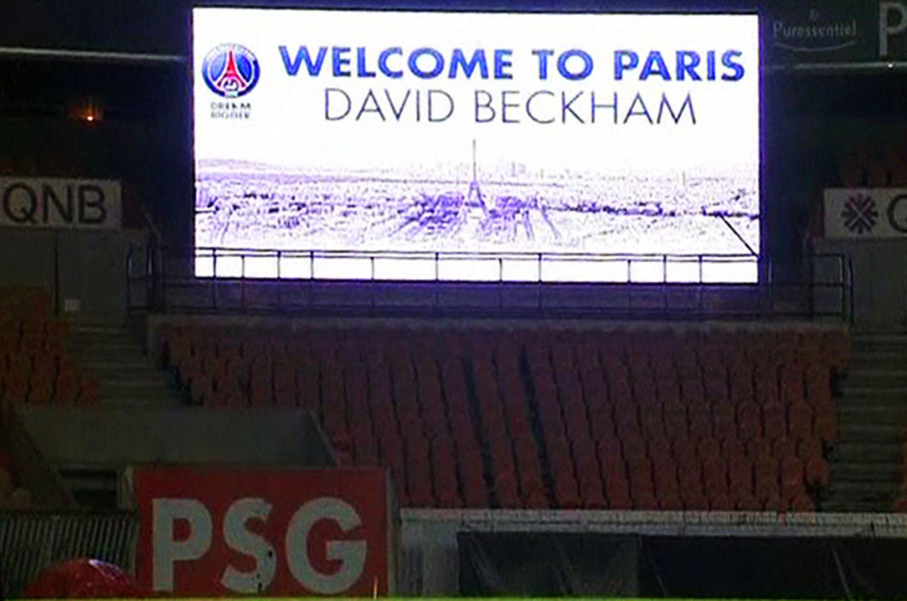 david beckam-psg-paris-saint-germain