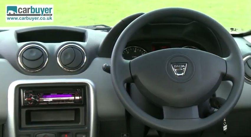 Dacia Duster plansa de bord
