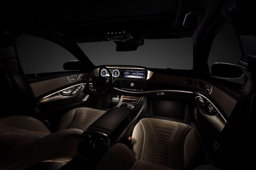 Interior Mercedes Clasa S 1