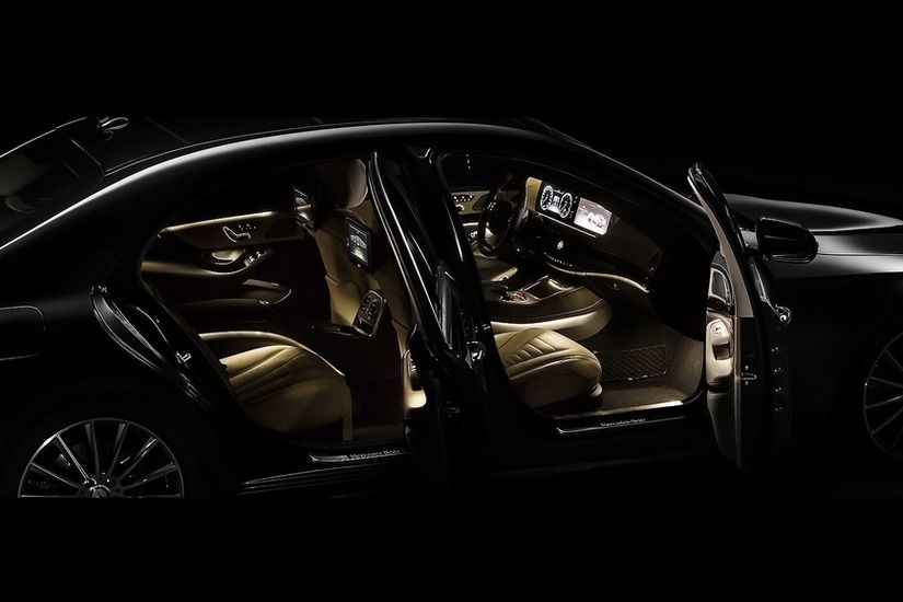 Interior Mercedes Clasa S 3