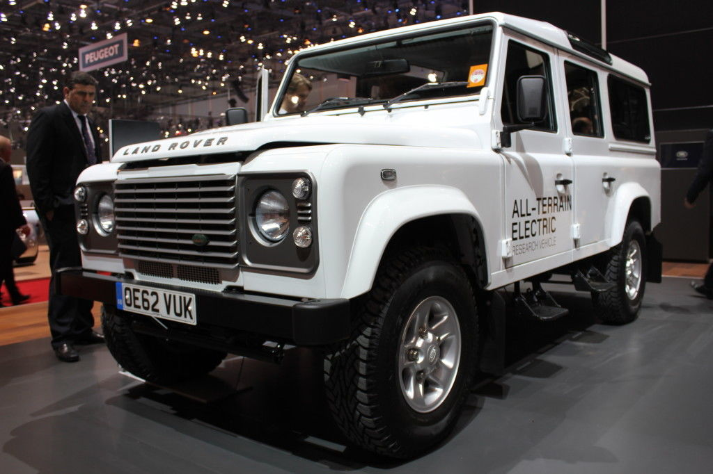 Land Rover Electric Defender Concept