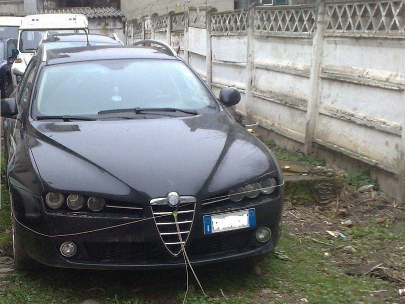 Masina Furata Alfa Romeo Rechizionata