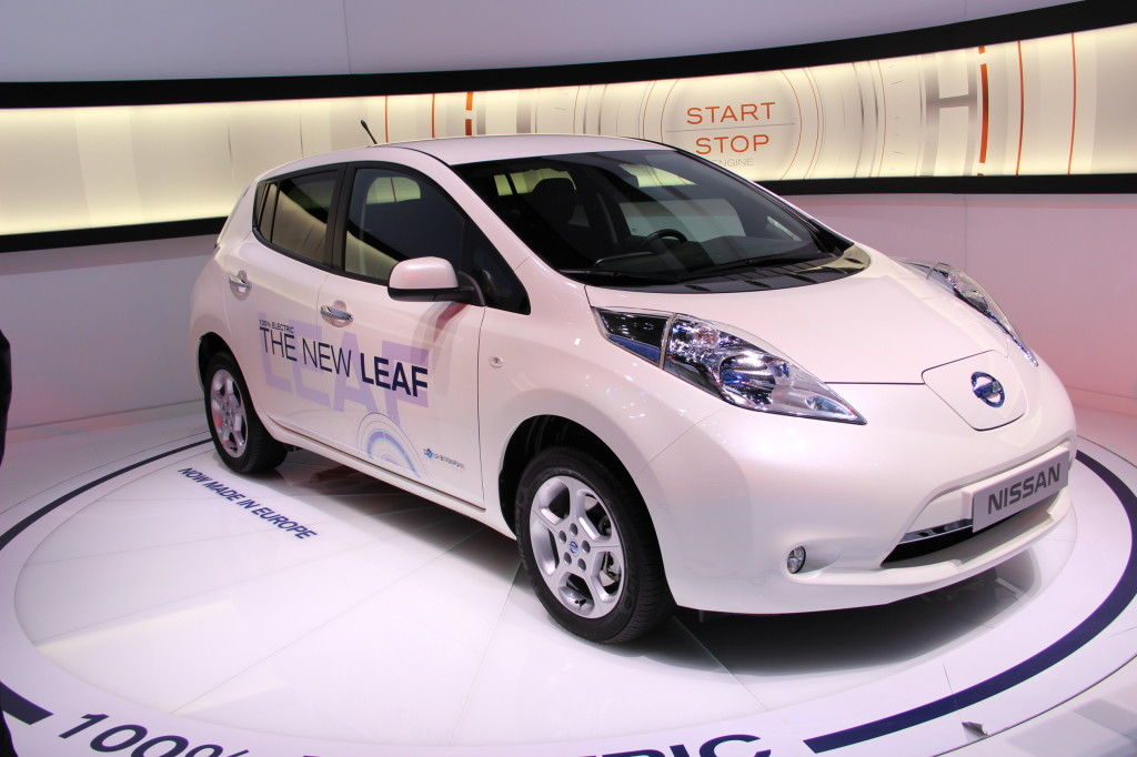 Nissan Leaf facelift