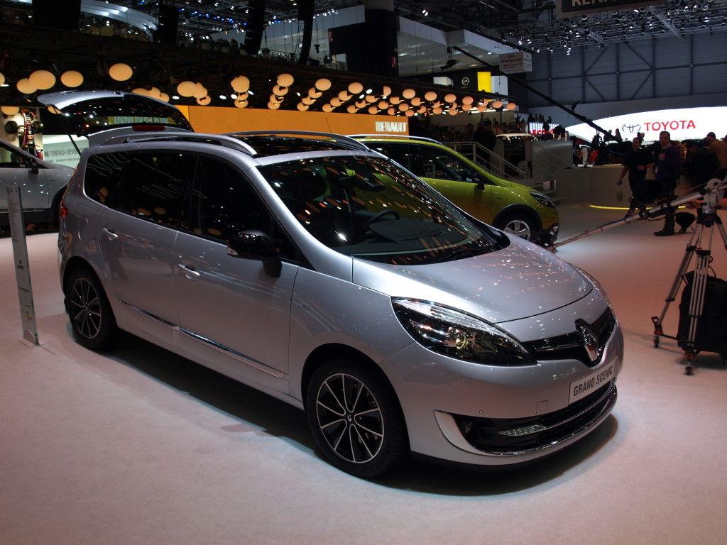 Renault Scenic facelift