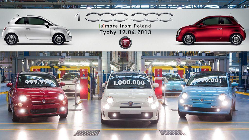 Fiat 500 uzina Tichy exemplarul un milion 2