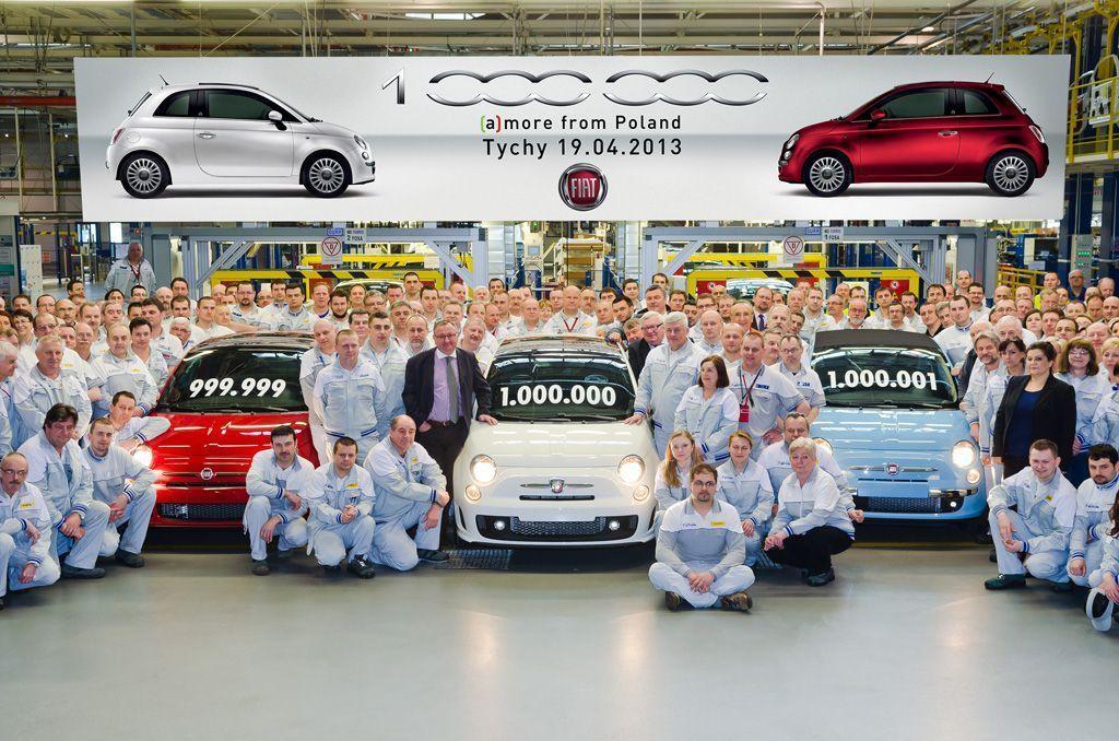 Fiat 500 uzina Tichy exemplarul un milion