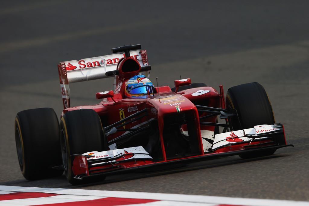 Formula 1 Fernando Alonso Ferrari Marele Premiu al Chinei 2013