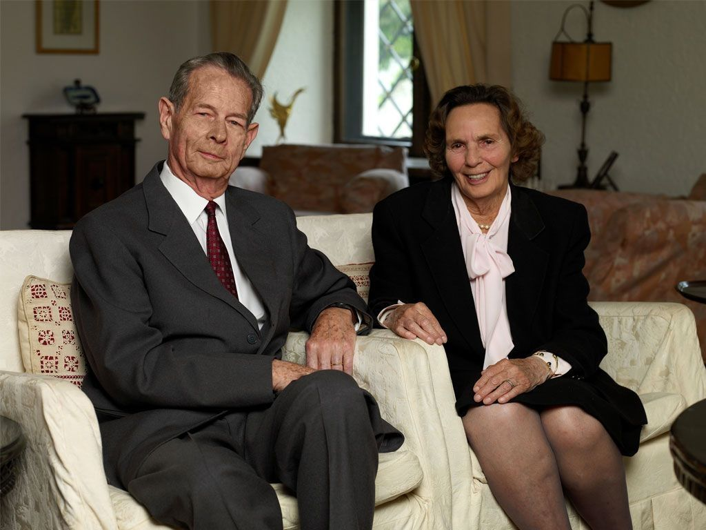 Regina Ana a României și Regele Mihai