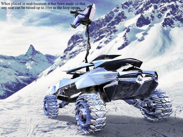 Yanko Design Volkswagen 2035 Zaire 4