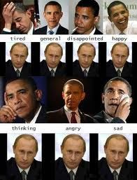 obama vs putin expression of the face