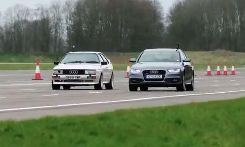 1989 Audi Quattro 20V vs Audi A4 TDI Quattro