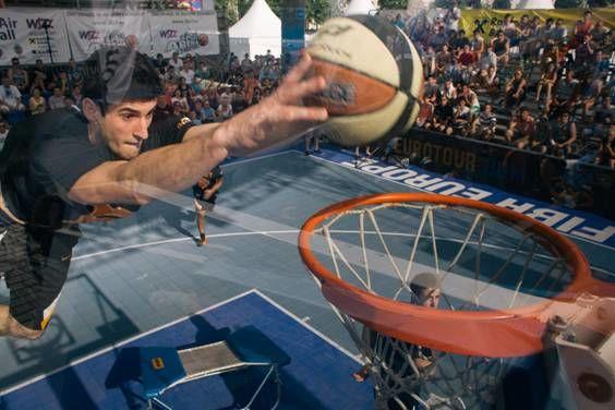 Concurs de slam dunk Wizz Air Sport Arena Streetball Piata Constitutiei 5