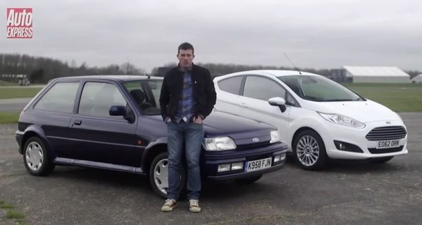Ford Fiesta XR2i vs Ford Fiesta Ecoboost AutoExpress