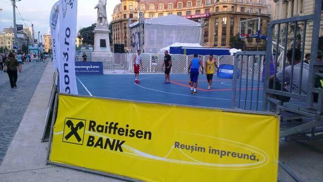 Raiffeisen Bank Bucharest Challenger streetball 4
