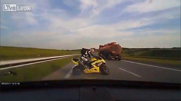 lectie-motociclist-accident-șofer-nesimțit