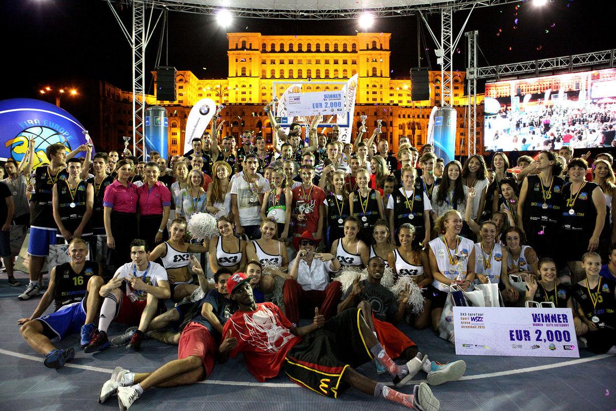Sport Arena Streetball baschet 3 la 3 clasament romani 2013 1
