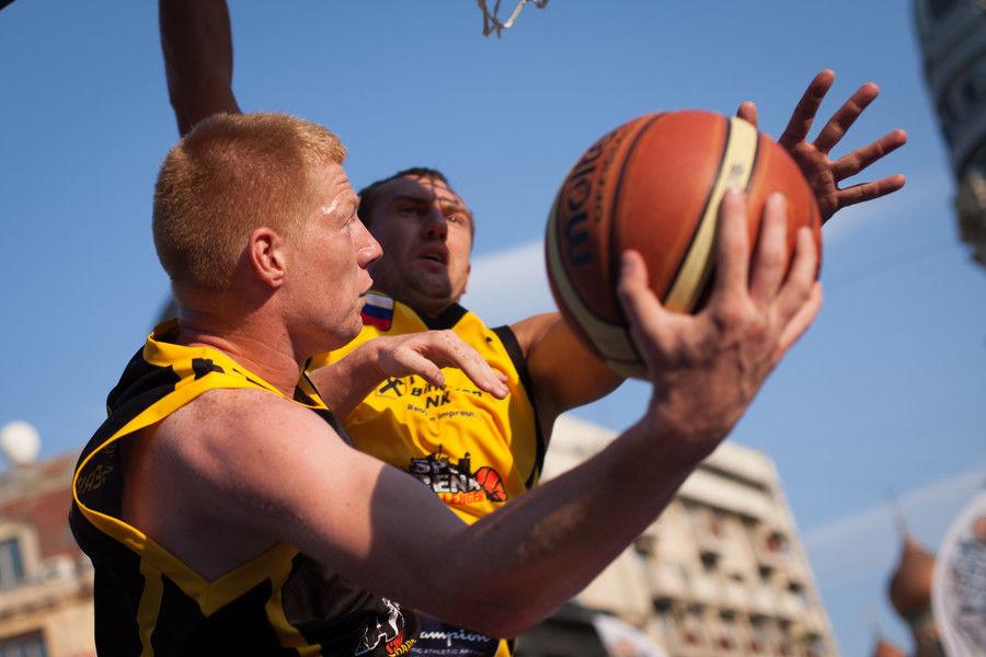 Sport Arena Streetball baschet 3 la 3 clasament romani 2013 2