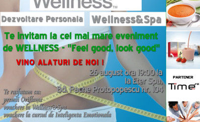 WORKSHOP WELLNESS eter spa luminita mirescu alina roman timetv