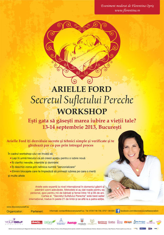 Arielle Ford dezvoltare personala timetv spiritual Florentina Opris