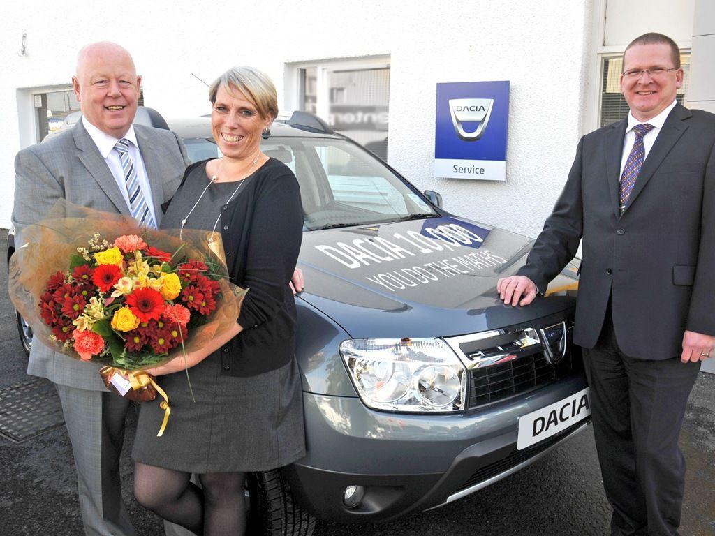 Dacia Marea Britanie 10000 masini vandute