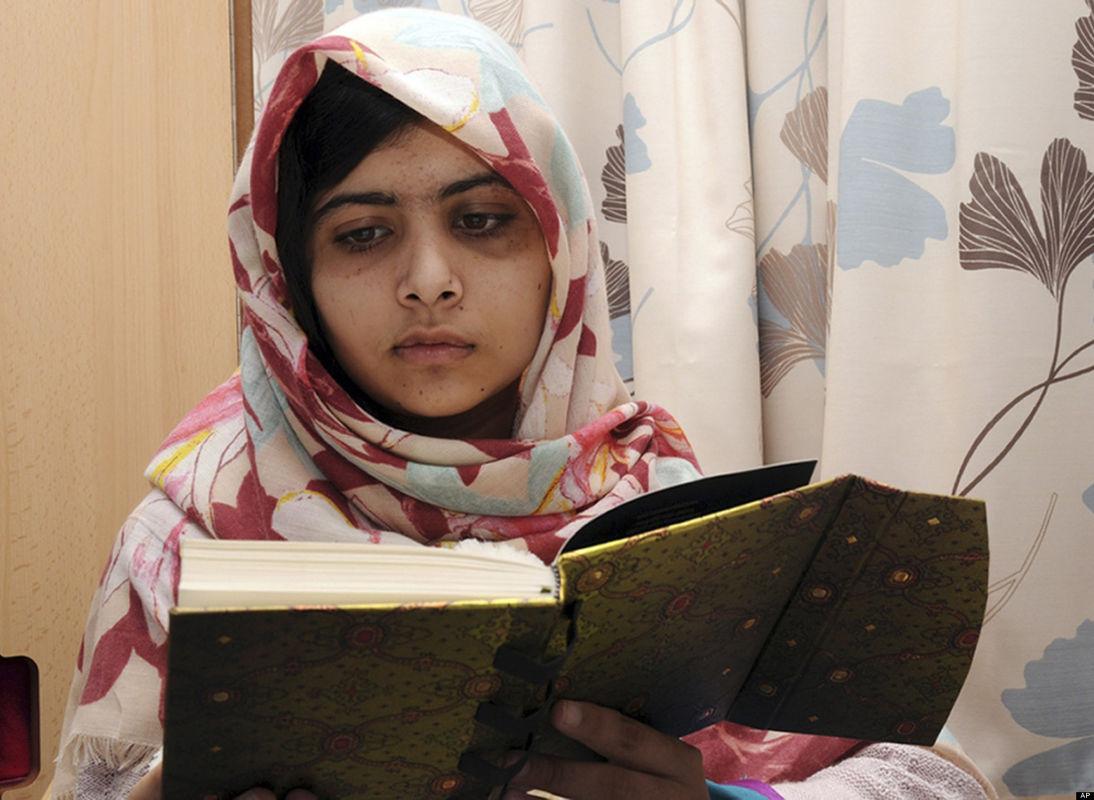 Malala Yousufzai nominalizată la Premiul Nobel pentru Pace