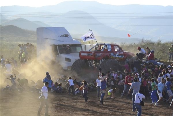 Monster Truck Accident Mexic TimeTV