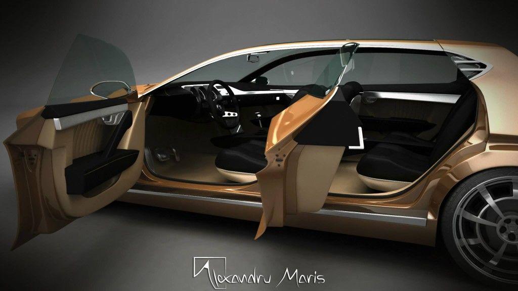 2014 Dacia 1300 Concept Alexandru Maris 9