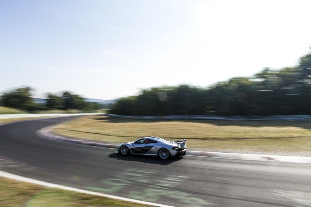 McLaren P1 Nurburgring 2
