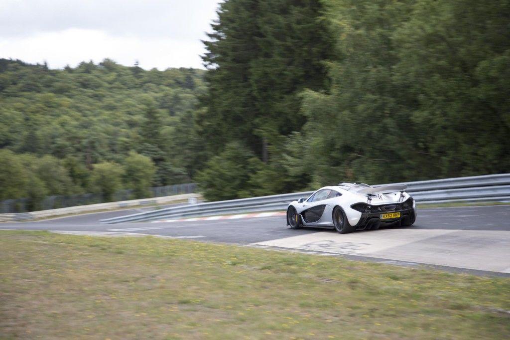McLaren P1 Nurburgring 3