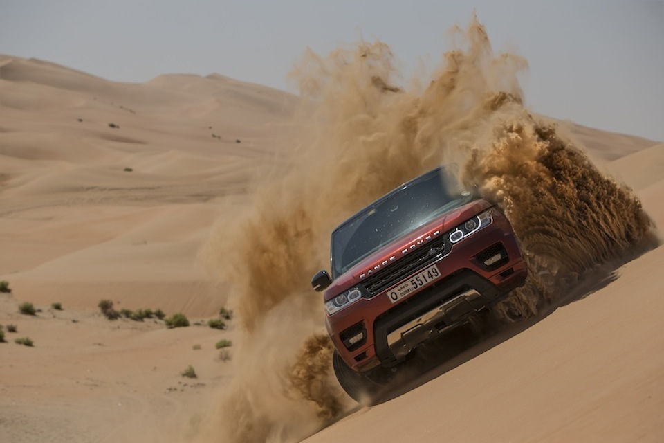 Range Rover Sport The Empty Quarter Patrimea Goala 1