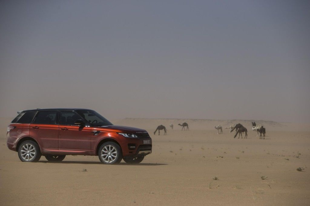 Range Rover Sport The Empty Quarter Patrimea Goala 2