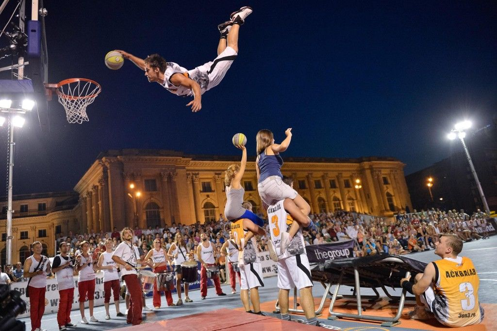 Sports Illustrated Bucuresti Mecca baschetului 3×3 Sport Arena Streetball 2