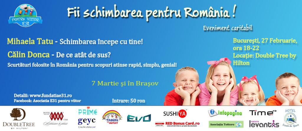 calin donca mihaela tatu FII SCHIMBAREA PENTRU ROMANIA LIVE ULIVE TIMETV